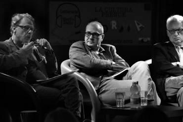 Con Nicola Fano e Filippo La Porta